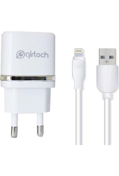 Glr Tech 2.1A Şarj Cihazı + Lightning Kablo