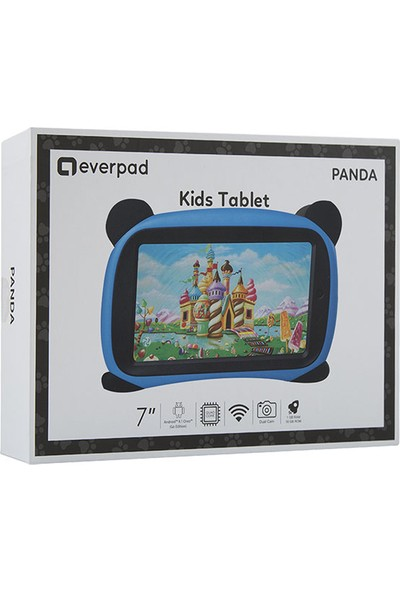 "Everest EverPad SC-730 Panda 16GB 7"" WiFi Tablet Mavi"