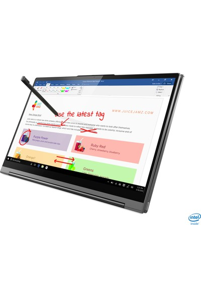 "Lenovo Yoga C940-14IIL Intel Core i5 1035G4 16GB 512GB SSD Windows 10 Home 14"" İkisi Bir Arada Bilgisayar 81Q9007GTX"