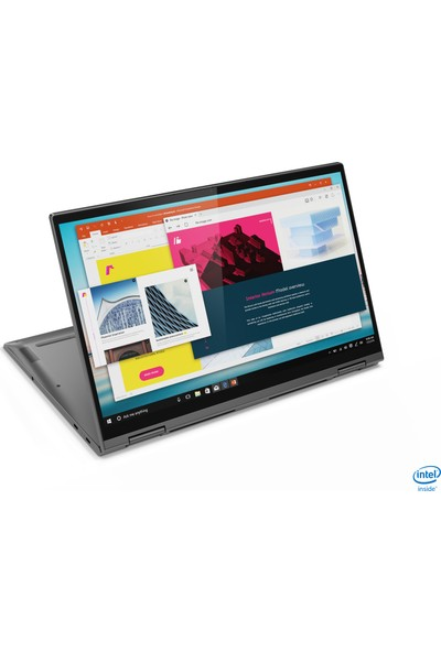 "Lenovo Yoga C740-15IML Intel Core i7 10510U 16GB 512GB SSD Windows 10 Home 15.6"" FHD İkisi Bir Arada Bilgisayar 81TD000BTX"