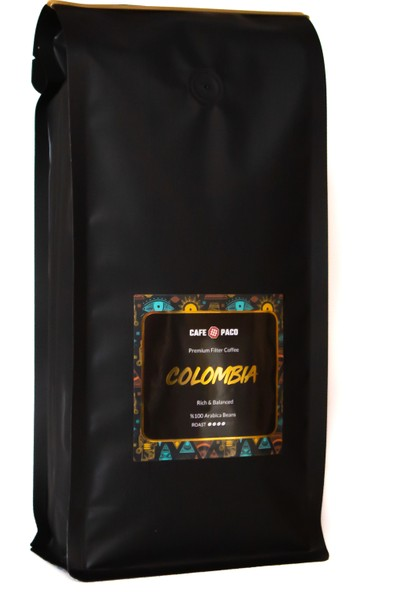 Paco Colombia Filter Coffee 1 KG(Öğütülmüş)