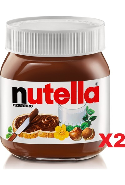 Nutella Kakaolu Fındık Kreması 400 gr x 2