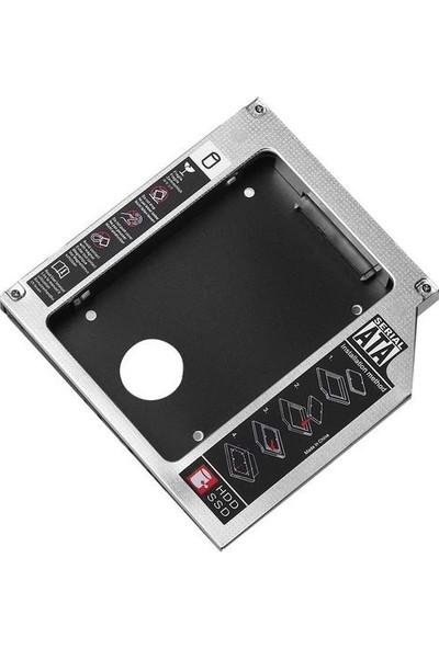 Upjaks 9.5mm HDD Caddy Laptop DVD To SSD Sata Kutu