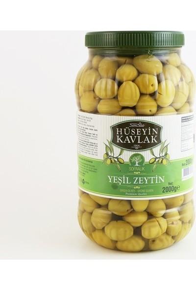 Hüseyin Kavlak Yeşil Domat Kırma Zeytin 2 kg