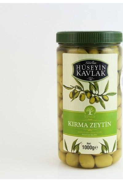 Hüseyin Kavlak 1 kg Yeşil Domat Kırma Zeytin