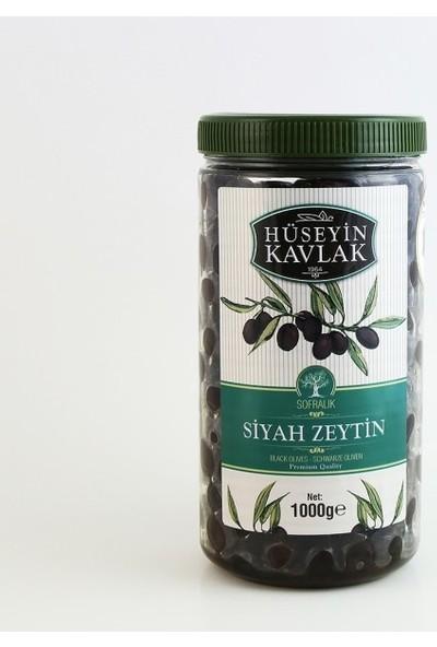 Hüseyin Kavlak 1 kg Mega Siyah Zeytin