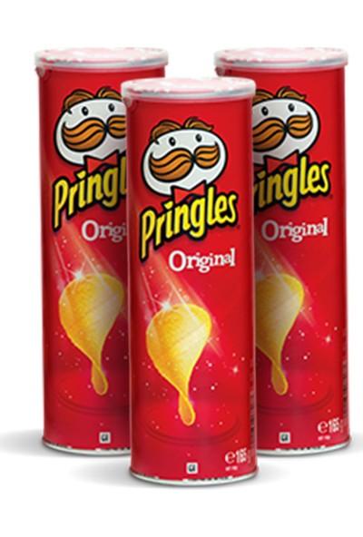 Pringles Cips Original 165 gr / 3'lü