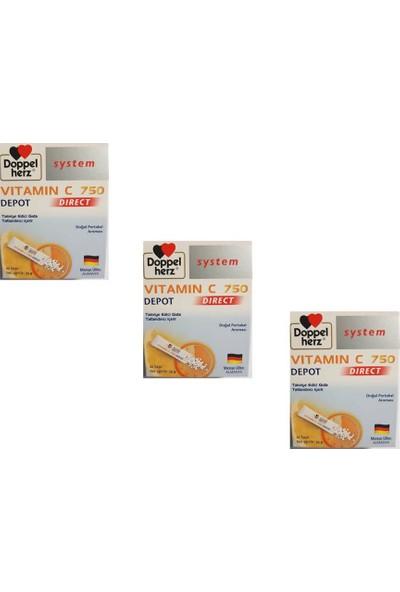 Doppelherz Vitamin C 750 3'lü Paket