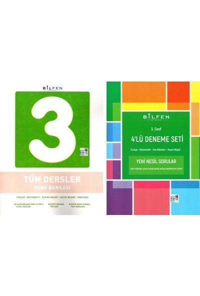 Bilfen Yayınları 3. Sınıf Tüm Dersler Soru Bankası + 4'lü Deneme Seti