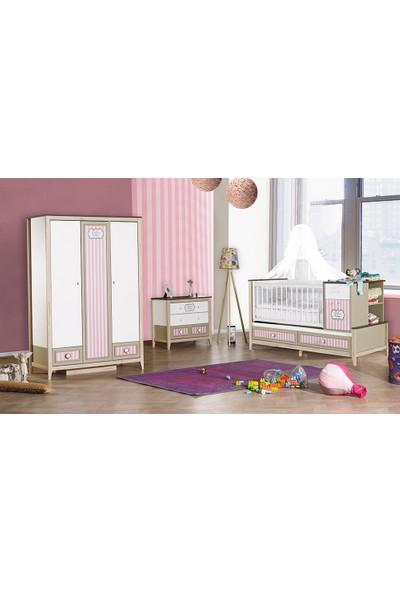 Yıldız Mobilya Carıno Pembe Bebek Odası