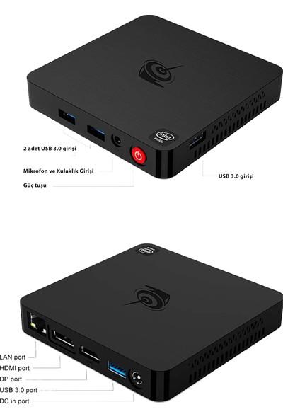 Beelink T4 Intel Atom 4gb 64GB Windows 10 Home Mini Pc