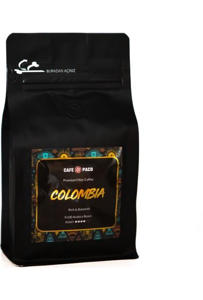 Paco Colombia Filter Coffee 250gr(Öğütülmüş)
