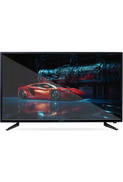 Yumatu 50'' 127 Ekran Full HD Dahili Uydu Alıcılı Android Smart LED TV