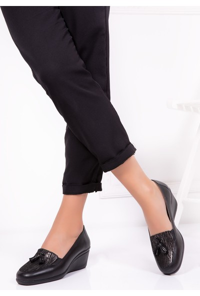 Gondol Hakiki Deri Klasik Ayakkabı