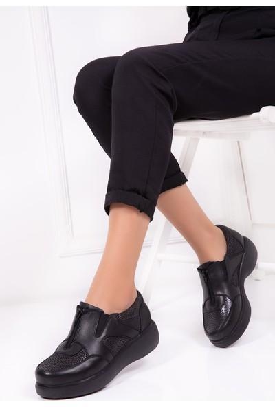 Gondol Hakiki Deri Ortopedik Ayakkabı