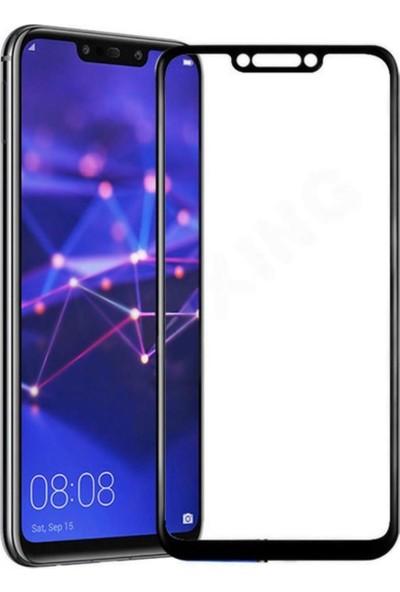 YGT Samsung Galaxy A8 Plus Fiber Nano Ekran Koruyucu Gold