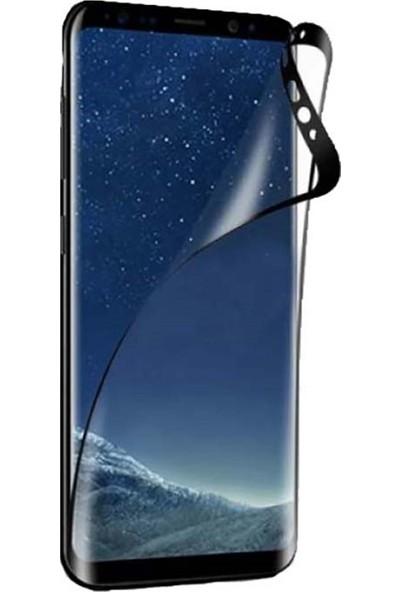 YGT Samsung Galaxy C7 Pro Fiber Nano Ekran Koruyucu Siyah