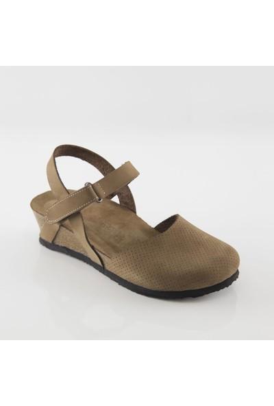 ART'iz Perge Kum Platform Sandalet