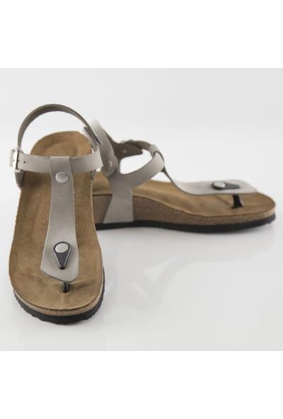 ART'iz Amorium Gri Parmak Arası Sandalet