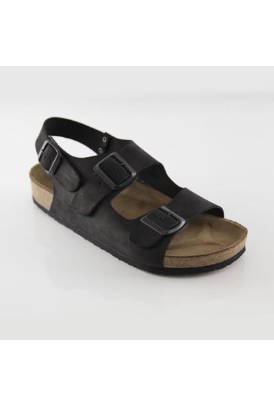ART'iz Phaselis Siyah Sandalet