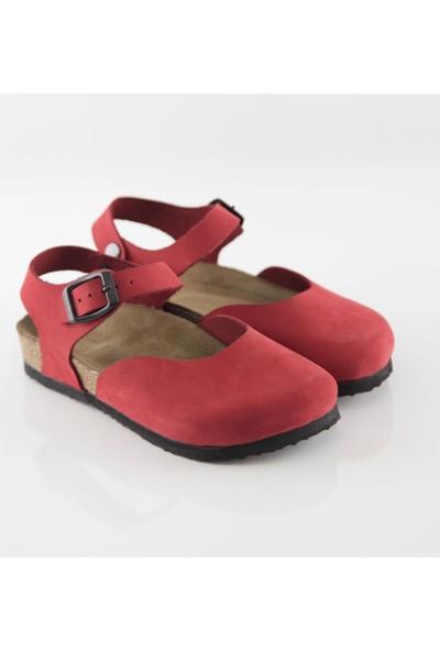 ART'iz Dodgeball Kırmızı Sandalet