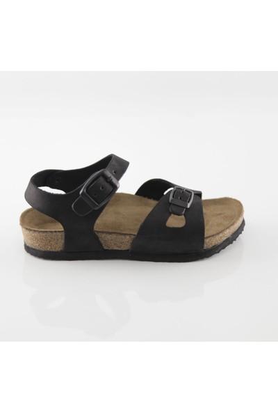 ART'iz Hopscotch Siyah Sandalet