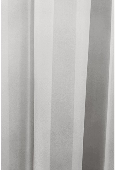 Koru Life Ekru Kırık Beyaz Düz Tül 140 x 250
