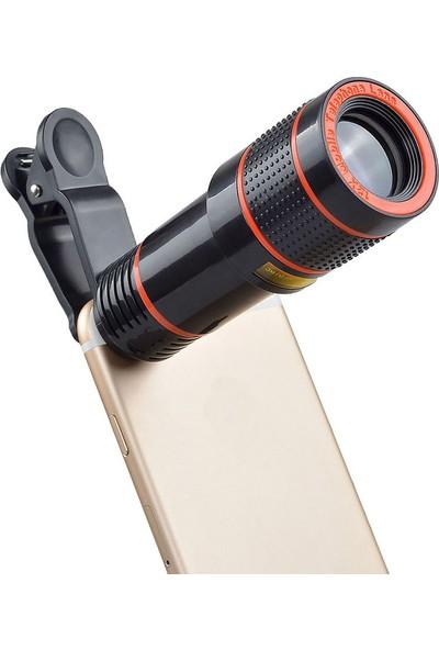 Apexel 12X Universal Telefon Zoom Lens Seti