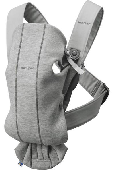 BabyBjörn Kanguru Mini 3D Cotton Jersey Light Grey