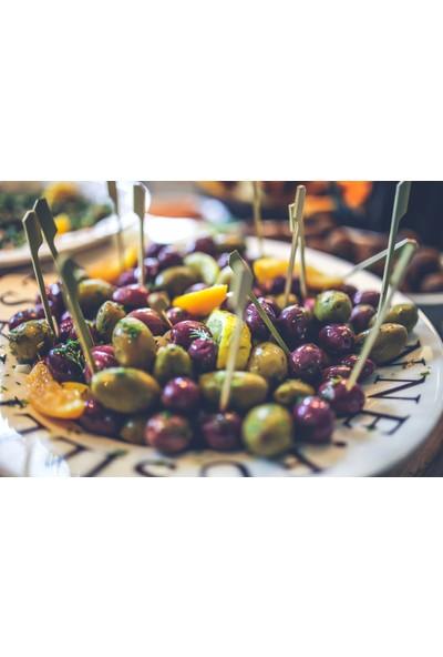 Zeytinizi Bodrum Kırma Yeşil Zeytin 3 kg