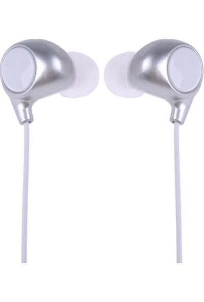 Protech Süper Bass Hd Ses 3.5 mm Jack Kulak Içi Kulaklık - Gri