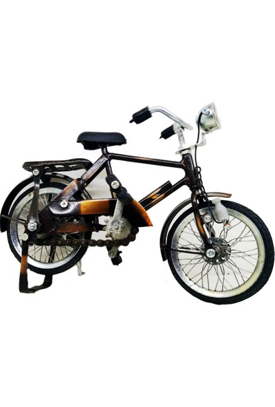 Ramosis Bisiklet Dekoratif Biblo El Işçiliği Eskitme Naturel Küçük Boy