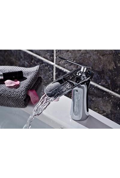 Hedi's Krom Şelale Lavabo Bataryası