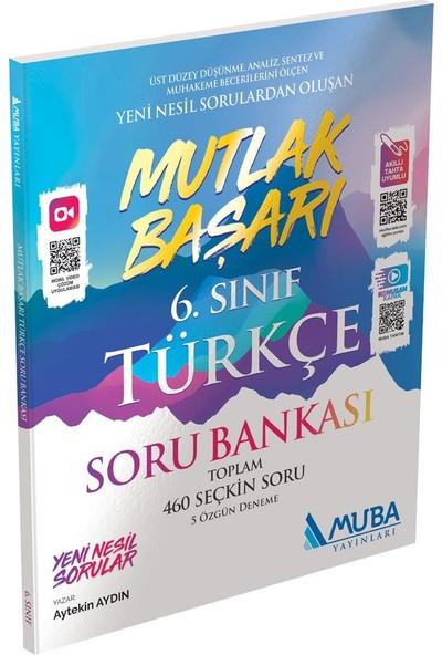 Muba Yayınları Mutlak Başarı 6. Sınıf Türkçe Soru Bankası