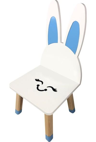 Odun Concept Tavşan Çocuk Ahşap Sandalye