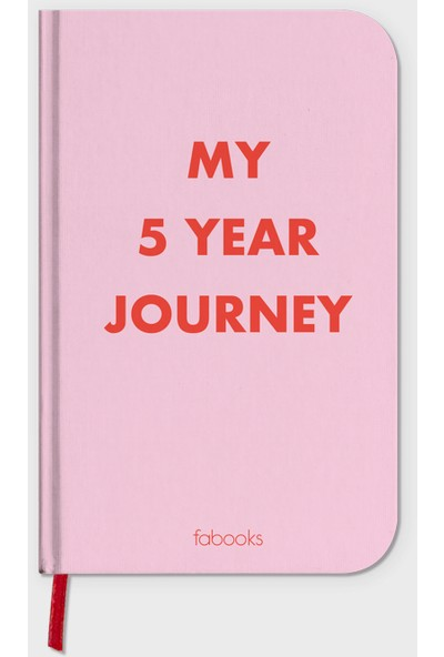 FAbooks One Line A Day My 5 Year Journey - 5 Yıllık Süresiz Ajanda