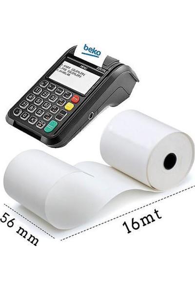 Arabulgelsin 56X16 Pos Kağıdı,Pos Rulosu,Termal Rulo 100 Rulo