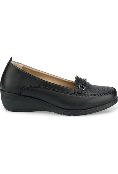 Polaris 103059.Z Siyah Kadın Ayakkabı