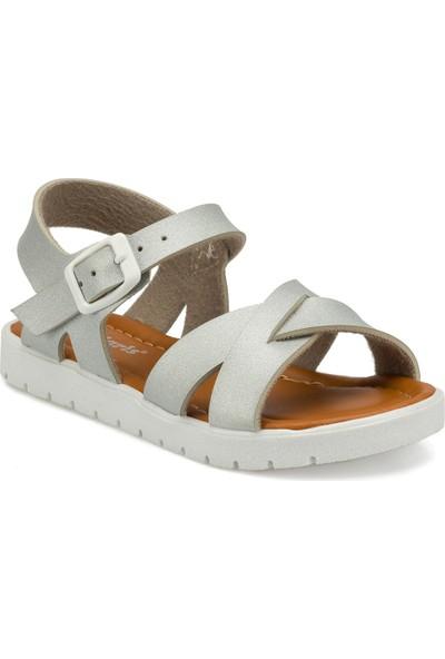 Polaris 91.508159.P Gümüş Kız Çocuk Sandalet