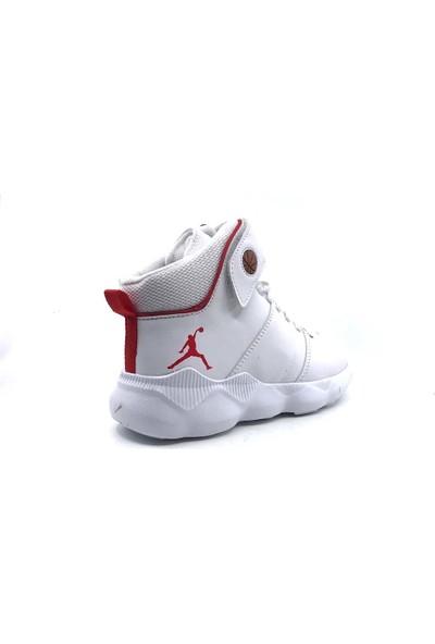 Cool 19-K31 Filet Beyaz-Kırmızı Erkek Çocuk Basketbol Ayakkabısı