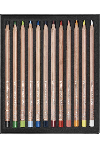 Caran D'Ache Lumınance 6901® - 12 Renkli Set