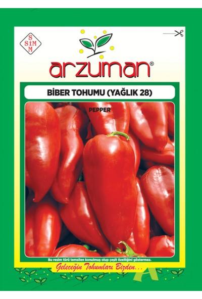 Arzuman Yalova Yağlık Kapya Biber Tohum