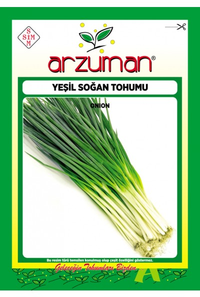 Arzuman Sebze Yeşil Soğan Tohum 10 gr
