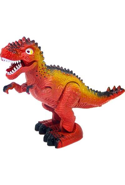 ToysAll Sesli ve Işıklı Yürüyen Dinazor Kırmızı