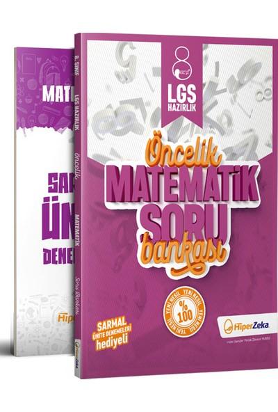 Hiper Zeka Yayınları Öncelik 8. Sınıf Matematik Soru Bankası