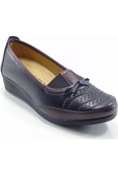 Ayzen Fiyonklu Anatomik Kadın Ayakkabı
