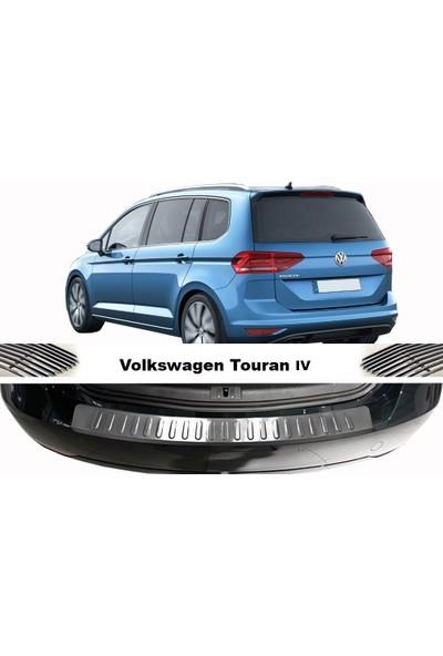 Arabamsekil Volkswagen Touran III Krom Arka Tampon Eşiği 2015-