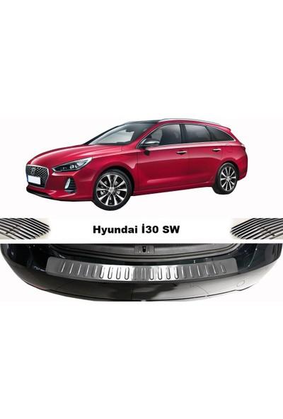 Arabamsekil Hyundai İ30 Krom Arka Tampon Eşiği 2012-2016