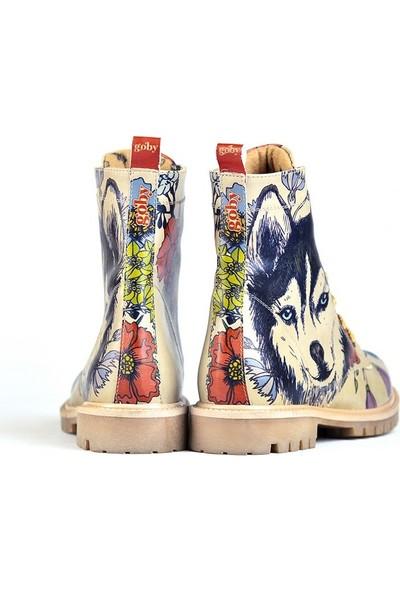 Goby Chelsea - Goby Kadın Tasarım Bot Açık Bej