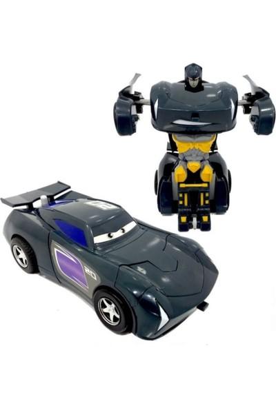 Damra Bebe Oyuncak Robota Dönüşen Çek Bırak Araba